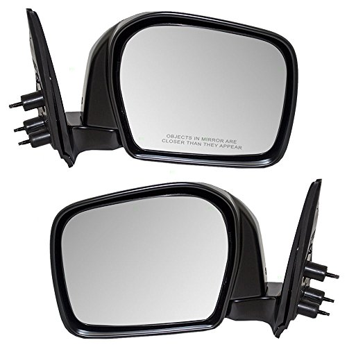 Driver and Passenger Manual Side View Mirror Replacement for Toyota Pickup Truck 87940-35531 87910-35560 AutoAndArt