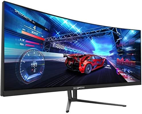 Sceptre 35″ (3440×1440) 21:9 100Hz Curved UltraWide LED Creative Frameless Monitor