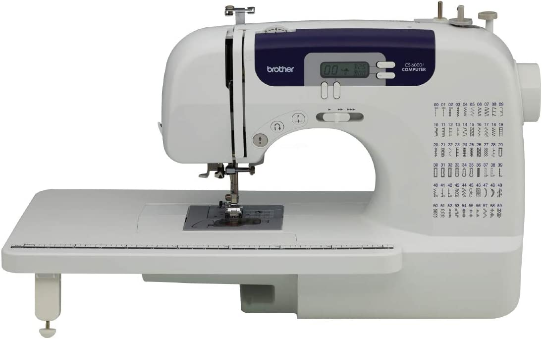 Brother CS6000i Sewing machine  – Unbiased Review