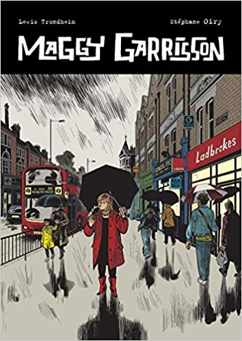 Book cover for Maggie Garrison by Lewis Trondheim and Oiry