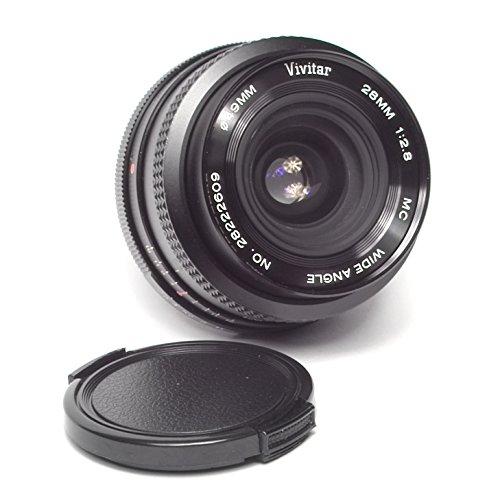 Vivitar 49mm 28mm 1:2.8 MC Close Focus Wide Angle No. 28524558