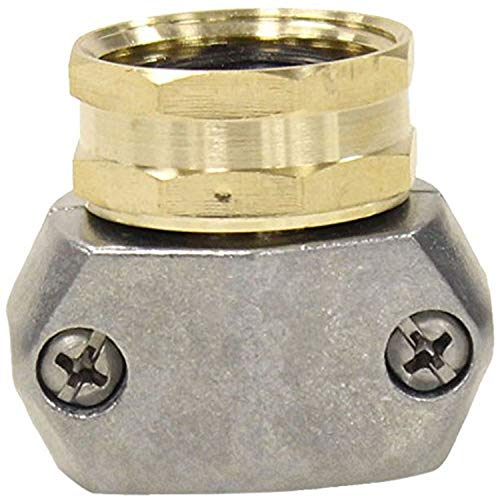 Gilmour 312GARP PRO Premium Zinc and Brass Female Coupling, Fits All 5/8-Inch and 3/4-Inch Hose
