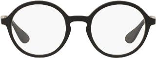 unisex-adult Rx7075 Rectangular Prescription Eyeglass Frames