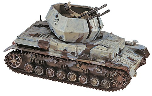 Hasegawa MT48 German Army 20mm Flakpanzer IV Wirbelwind 1/72 Scale Kit