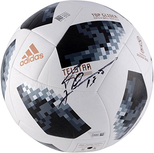 Lionel Messi Argentina Autographed 2018 FIFA World Cup Telstar 18 Soccer Ball - Fanatics Authentic Certified