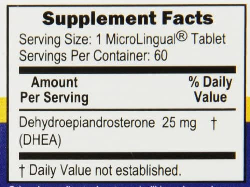 Superior Source DHEA Nutritional Supplements, 25mg, 60 Count 7