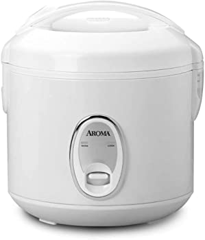 Aroma Housewares 8-Cup Cooked / 4-Cup Uncooked Cool Touch Rice Cooker