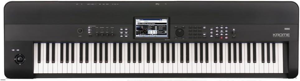 Korg KROME 88-Key Music Workstation Keyboard & Synthesizer