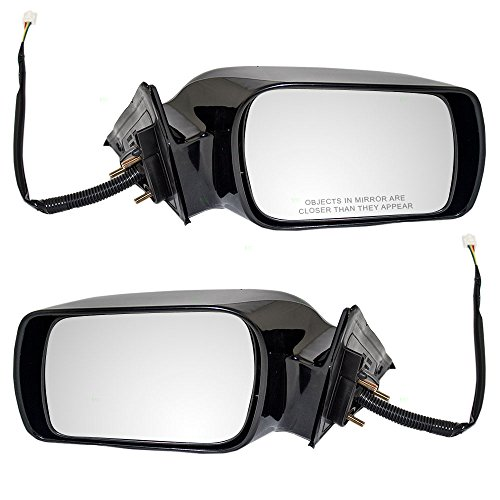 Driver and Passenger Power Side View Mirrors Replacement for Toyota Avalon 87940AC011C0 87910AC011C0 AutoAndArt