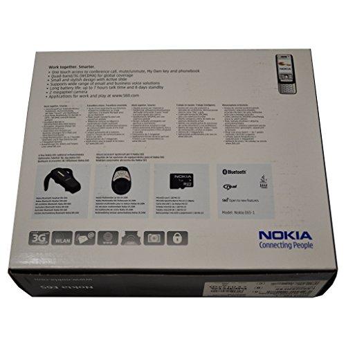 Nokia E65-1 50MB (GSM Only, No CDMA) Factory Unlocked Original Collectors Item 3G Cellphone (Red) - International Version