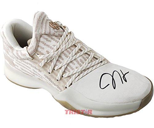 James Harden Signed Autographed Adidas Vol. 1 Primeknit Signature Shoe TRISTAR COA