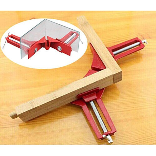 90 Degree Angle Clamp - Right Angle Clamp- 90 degree Right Angle Clamp 100MM Mitre Clamps Corner Clamp Picture Holder Multi-functional Aluminum Woodworking Tools Framing - Picture Frame Clamp