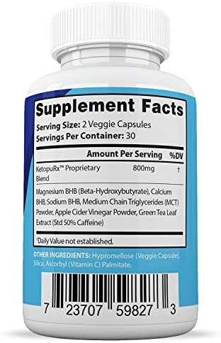 Instant Pure Keto Pills Advanced BHB Boost Ketogenic Supplement Exogenous Ketones Ketosis for Men Women 60 Capsules 1 Bottle 5
