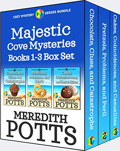 Majestic Cove Mysteries Books 1-3 Box Set by [Meredith Potts]