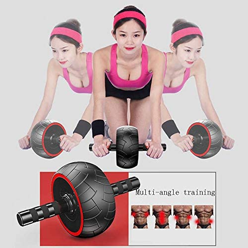 PEI Ab Roller Wheel - 3-in-1 Ab Wheel Roller with Knee Mat and Jump Rope - Ab Roller Wheel for Abdominal Exercise - Ab Workout - Home Workout Equipment - Abs Wheel Roller - Abs Roller 2020 New 5