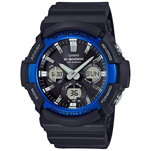 Casio GAS100B-1A2 G-Shock Standard Analog-Digital Tough Solar Men's Watch