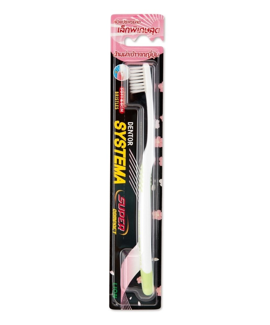 Systema Dentor Super Compact Soft & Slim Toothbrush 1's(pack of 6)