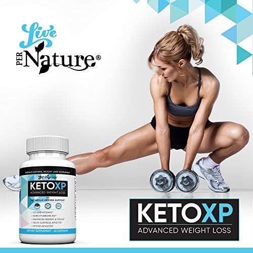 Keto XP Diet Pills - Advanced Keto Fast Rapid Burn Supplement 800mg 5