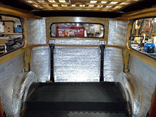 244 Sqft 4 x 61 Roll Car Van SUV RV Camper Vehicle Insulation Sound Deadener /& Radiant Heat Barrier Mat Automotive Lightweight Thermal Insulation US Energy Products