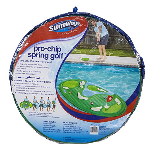 SwimWays Pro-Chip Spring Golf Floating Pool Game