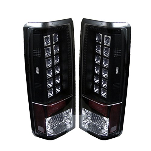 Spyder Auto Chevy Astro / Safari Black LED Tail Light