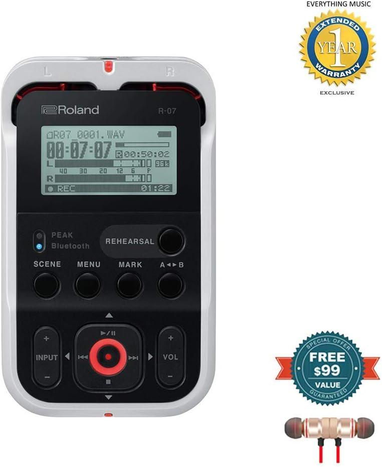 Roland R-07 High-Resolution Handheld Audio Recorder