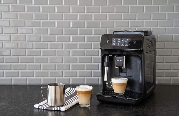 Philips Carina 1200-Series Compact Super-Automatic All-In-One Programmable Espresso Machine