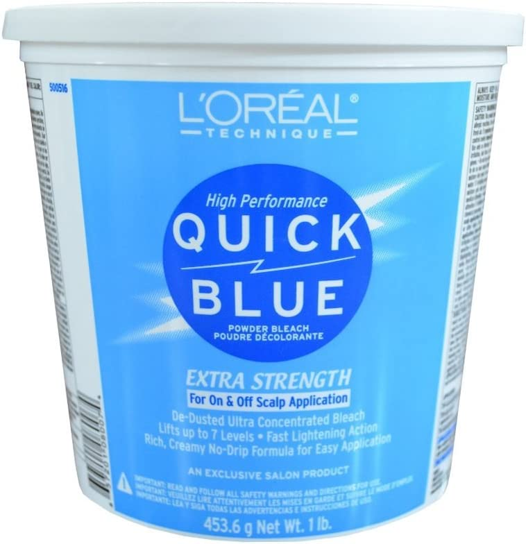 Blue Powder Bleach