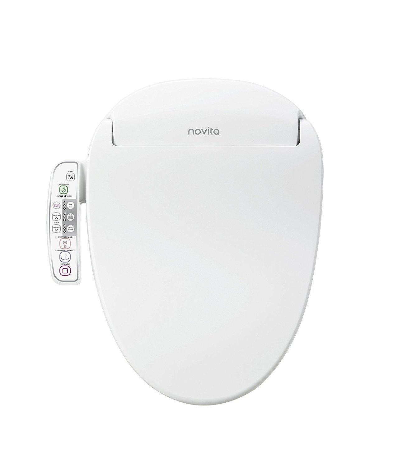 Kohler Bn330 N0 Novita Electric Bidet Seat For Elongated Toilets White Buy Online In Bosnia And Herzegovina Kohler Products In Bosnia And Herzegovina See Prices Reviews And Free Delivery Over