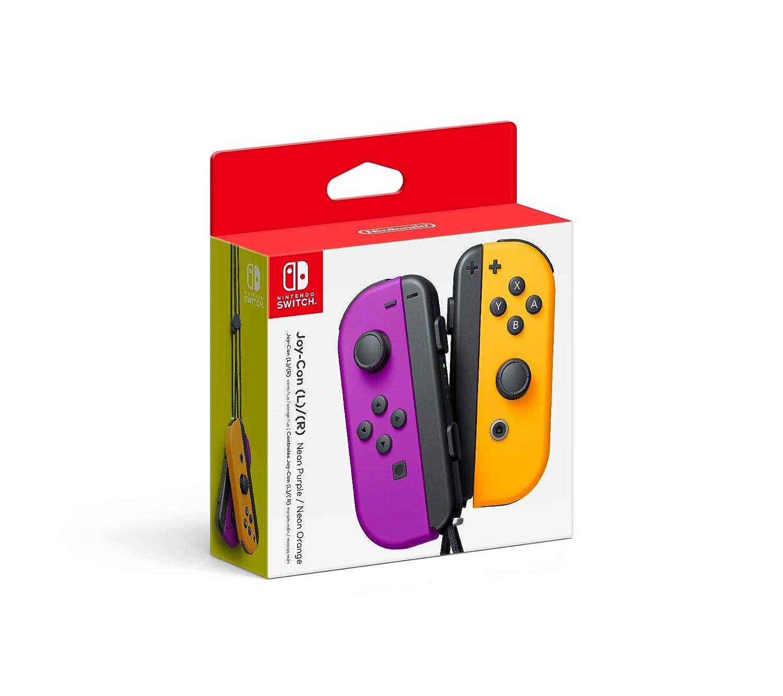 Joy-Con (L-R) Nintendo Switch Neon Purple/ Neon Orange