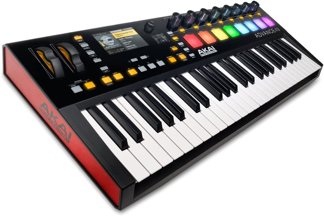 Akai Professional Advance 49 | 49-Key Virtual Instrument Production Controller