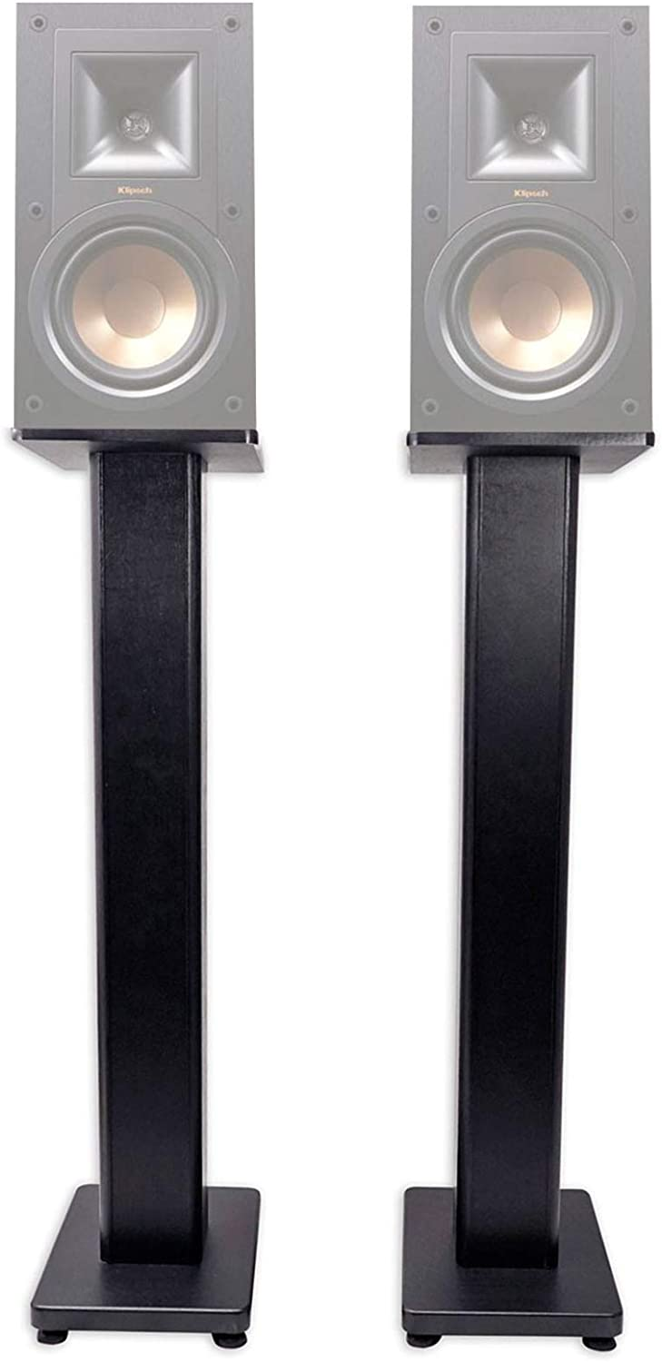 "Pair 36"" Bookshelf Speaker Stands for Klipsch R-15PM Bookshelf Speakers"
