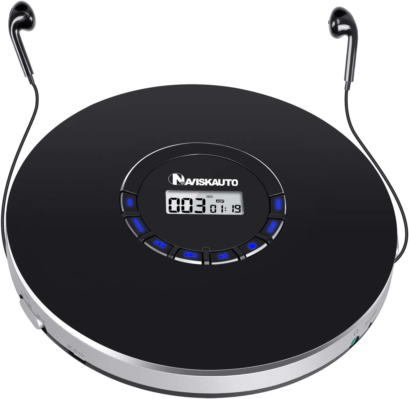 Rechargeable Portable Cd Player, Small Cd Player For Car