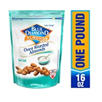 Deals on Blue Diamond Almonds Oven Roasted Sea Salt, 16-Ounce