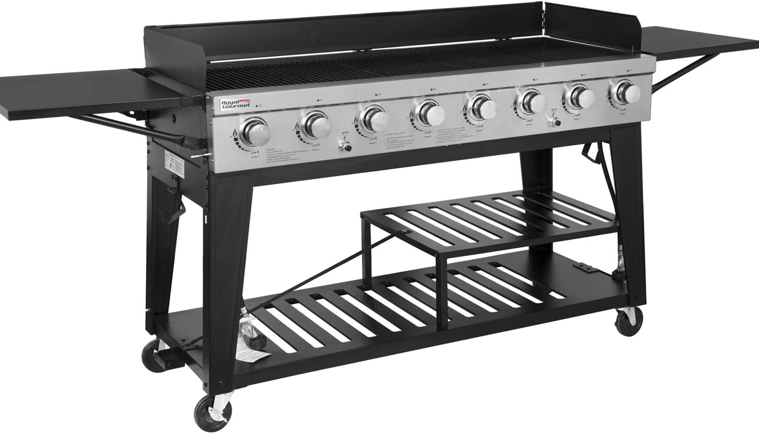 The Royal Gourmet GB8000 8-Burner Gas Grill review & buying guide
