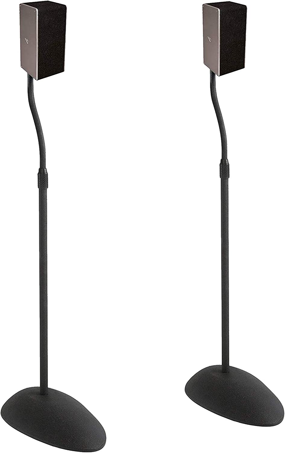 ECHOGEAR Adjustable Height Speaker Stands
