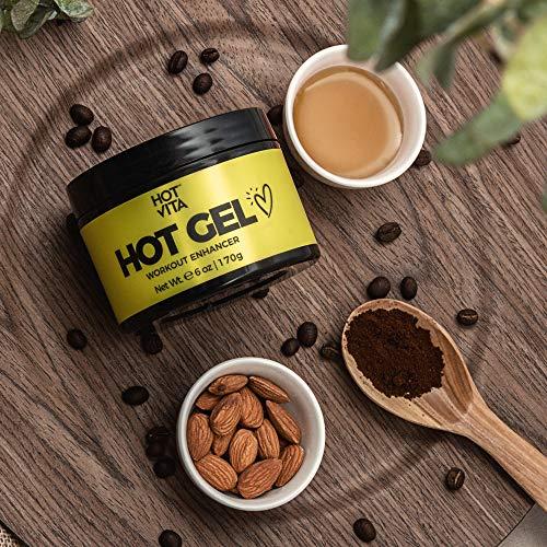 Hot Vita Hot Gel – Sweat Cream Workout Enhancer Belly Slimming Gel (6 oz) 7