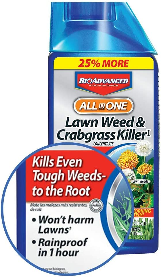 BioAdvanced All-In-One Lawn Weed & Crabgrass Killer