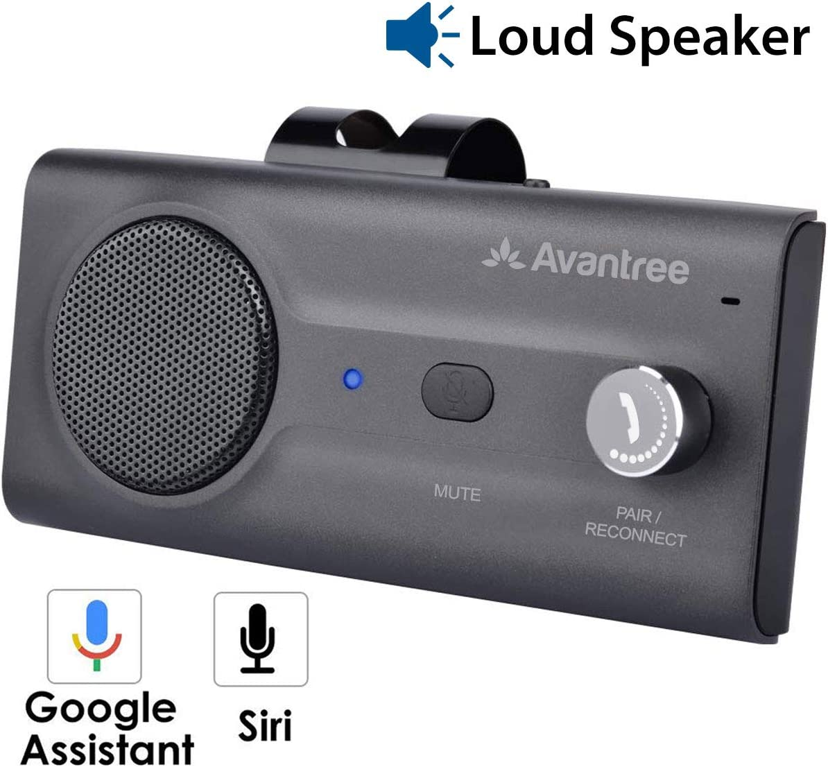 Avantree CK11 Hands Free Bluetooth for Cell Phone Car Kit