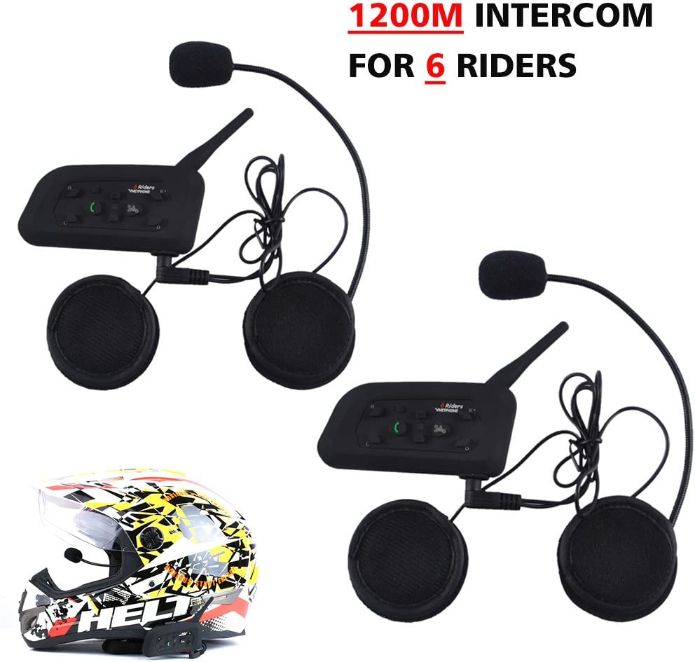 Top Max Motorcycle Bluetooth Headset