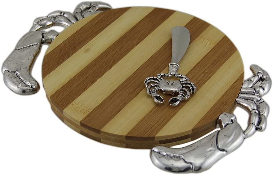 Crab Design Bamboo Cutting Board