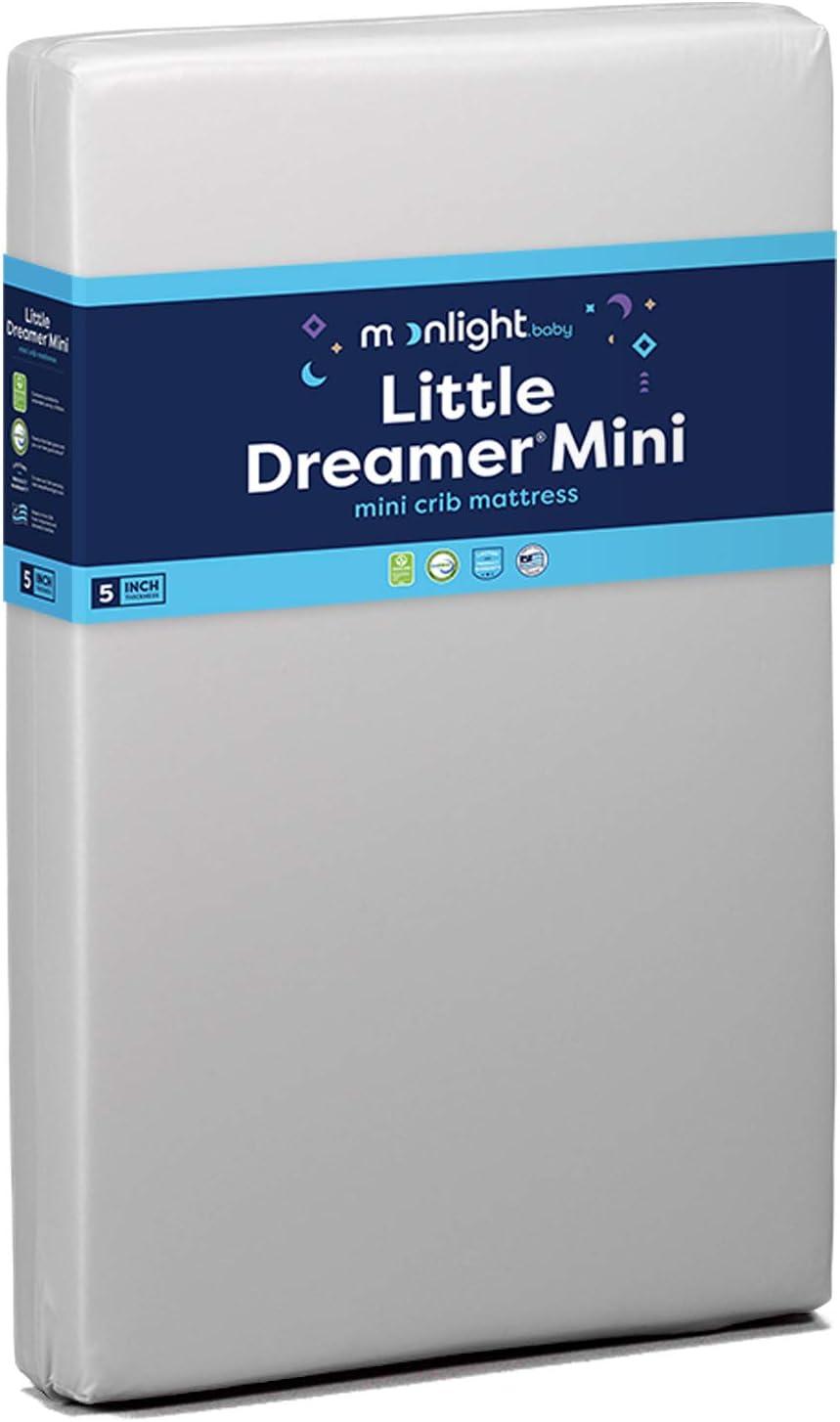 Moonlight Slumber Little Dreamer Dual Sleep Surface Crib Mattress