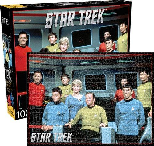 Aquarius Star Trek Original Cast Jigsaw 1000 Piece Jigsaw Puzzle