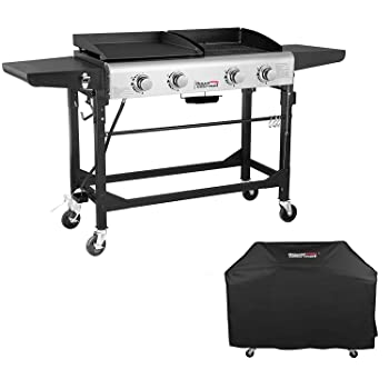 Royal Gourmet Portable Gas Grill and Griddle Combo