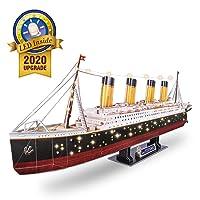 266Pcs CubicFun Adults RMS Titanic Ship Toys Model Kits 34.6-in