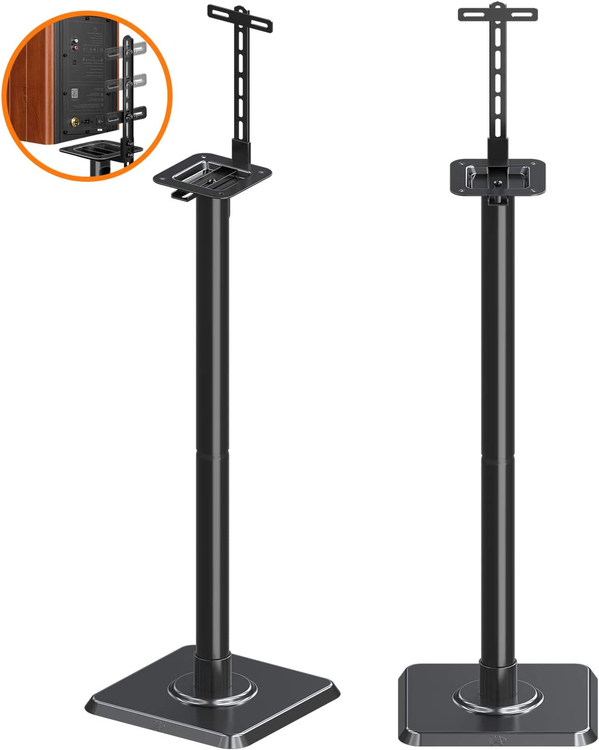 Mounting Dream Speaker Stands Bookshelf Speaker Stands