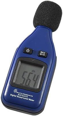 BAFX Products - Decibel Meter/Sound Pressure Level Reader (SPL) / 30-130dBA Range