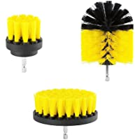 Deals on 3 Piece Scrub Brush Drill Attachment Kit