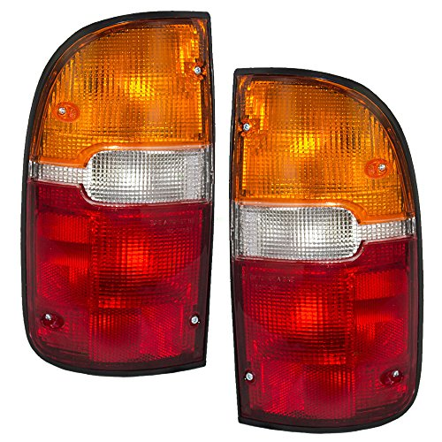 Driver and Passenger Taillights Tail Lamps Replacement for Toyota Pickup Truck 81560-04030 81550-04030 AutoAndArt
