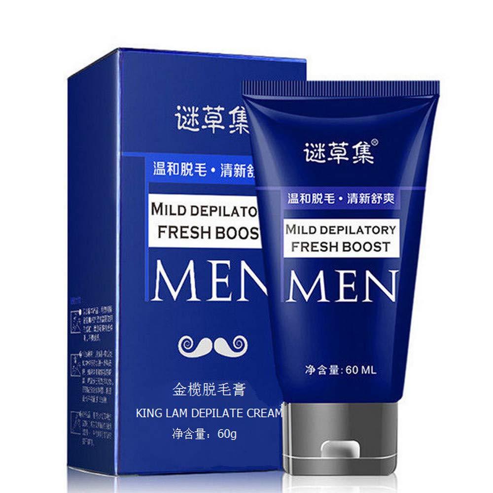 Hair Remove Cream Enjocho 60ml Men S Permanent Body Hair Removal